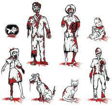 Baby Zombie Car Decal