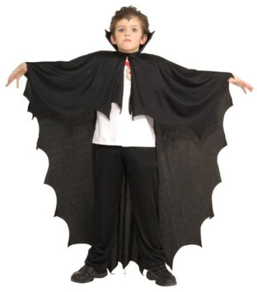 Children's Black Vampire Cape