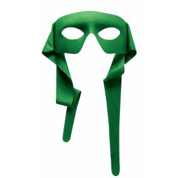 Green Superhero Mask