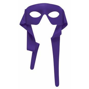 Purple Superhero Mask