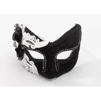 Venetian Mask with Skull Cameo