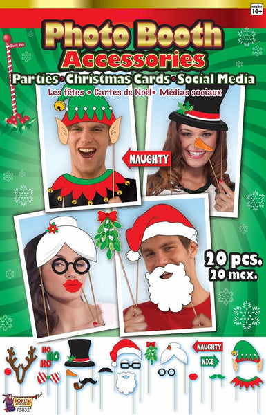 Christmas Photo Booth Set