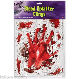 Blood Splatter Wall Clings
