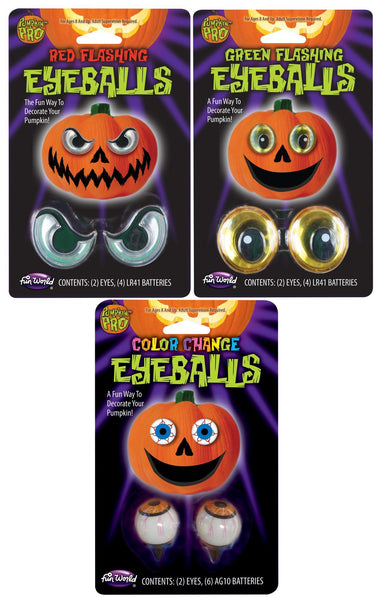 Flashing Eyes for Halloween Pumpkins