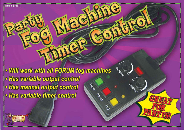 Fog Machine Timer Control