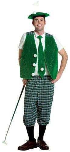 Golfer Vest With Shirt.