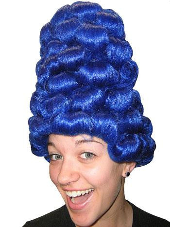 Blue Marge Simpson Wig