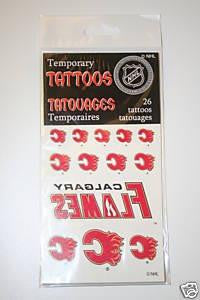 Temporary Tattoos - Calgary Flames