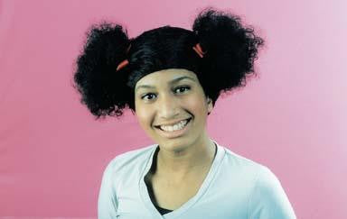 Afro Puffball Wig