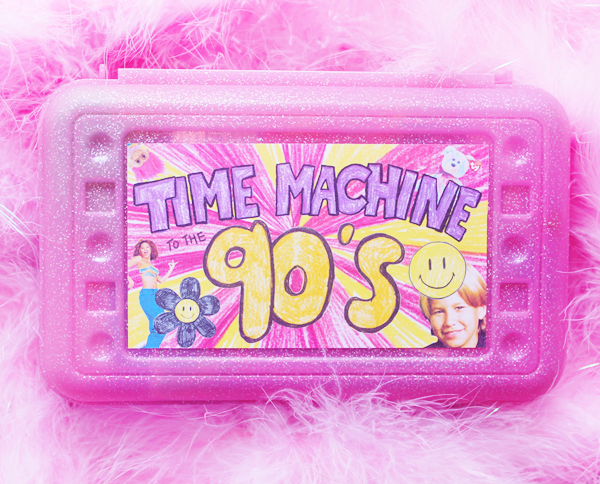 Time Machine to the 90's - Birthday edition