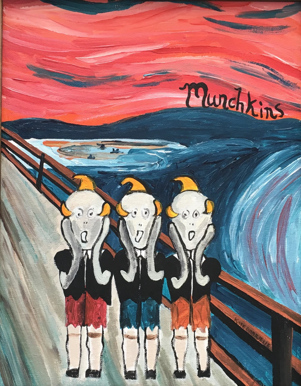 Munchkins original painting