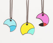 BFF Best Friend CMYK necklace set for three friends