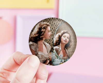 Ava Gardner pocket mirror