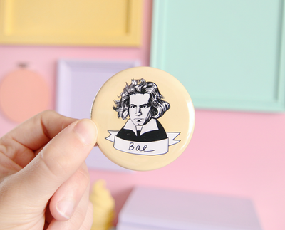 Bae Beethoven pocket mirror