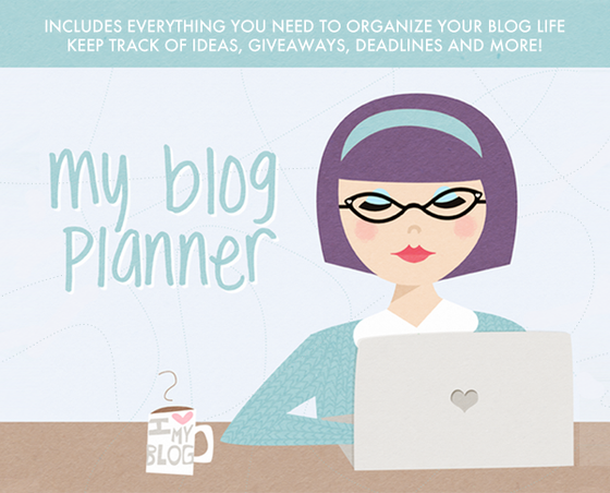 Digital blog planner