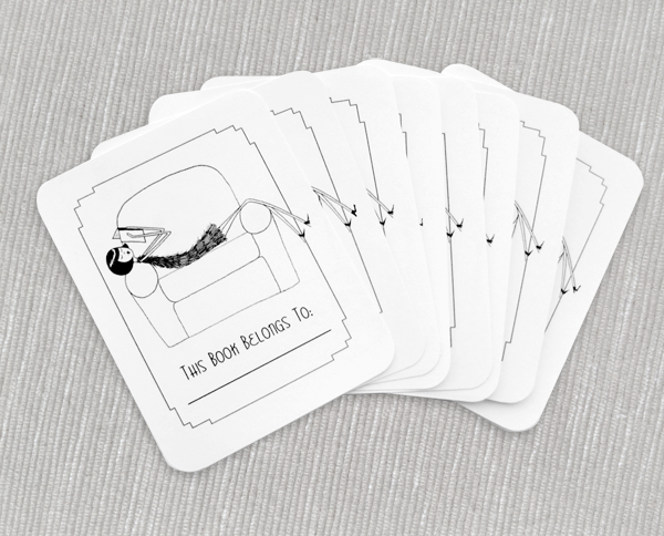 Printable bookplates
