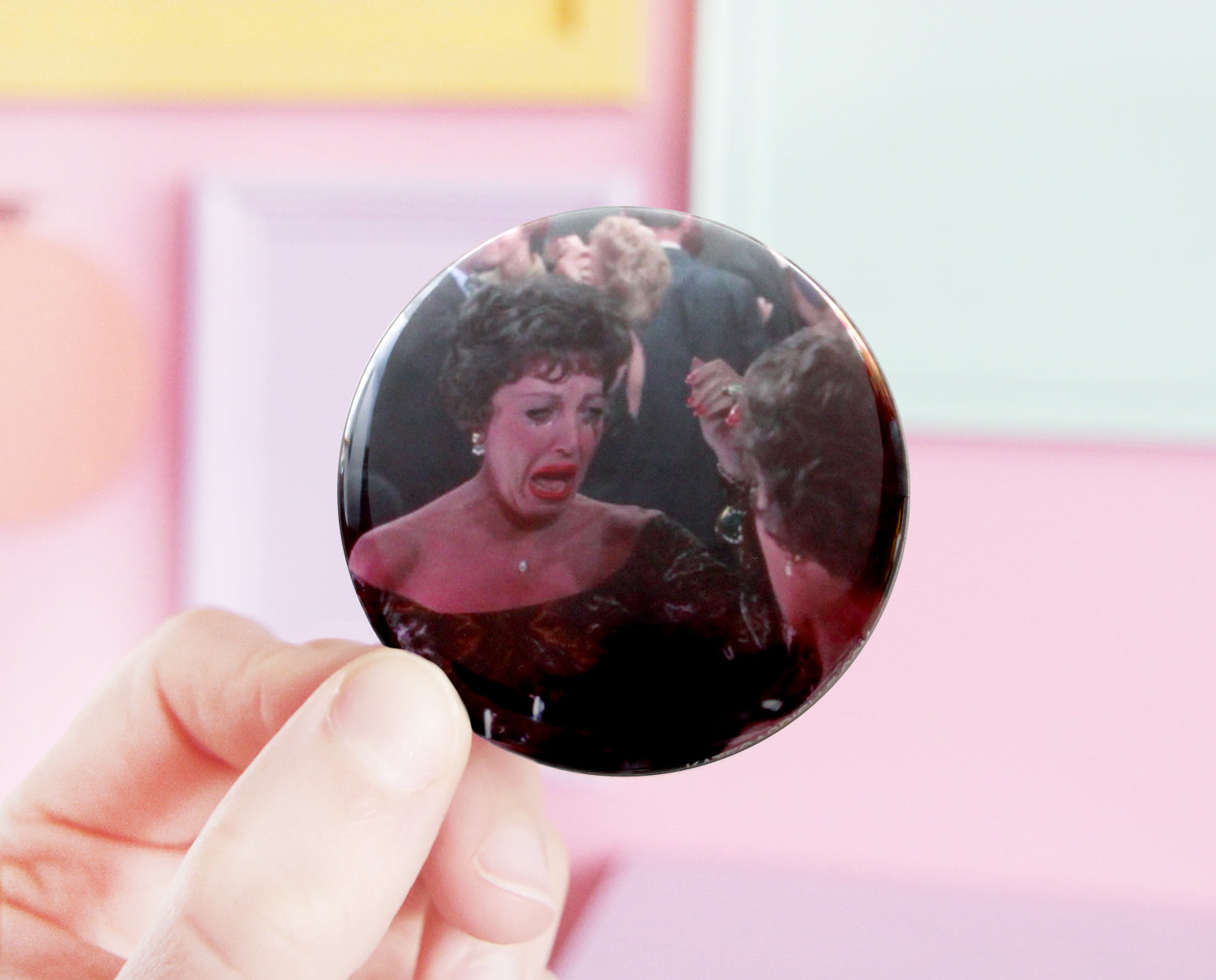 Breakfast at Tiffany's pocket mirror