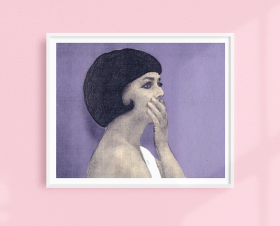 Jeanne Moreau The Bride Wore Black art print