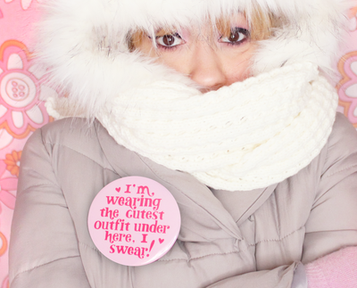 Bundled Up button