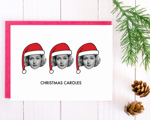 Christmas Caroles Christmas card set