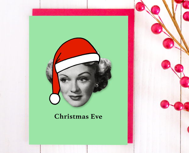 Christmas Eve Christmas card set
