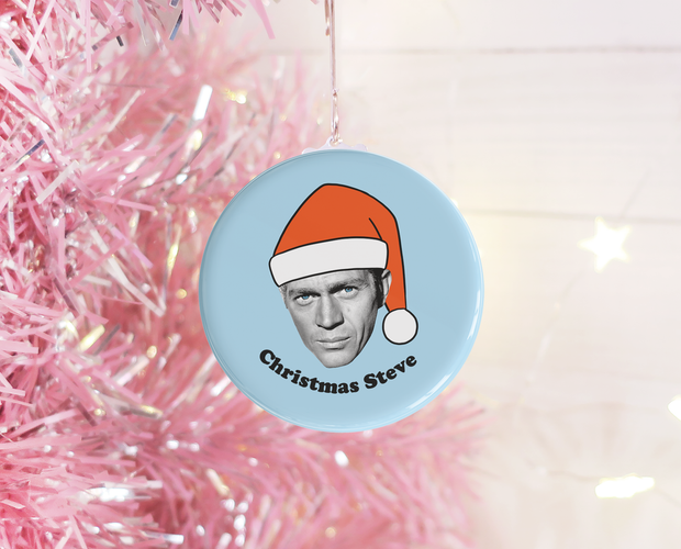 Christmas Steve Christmas ornament