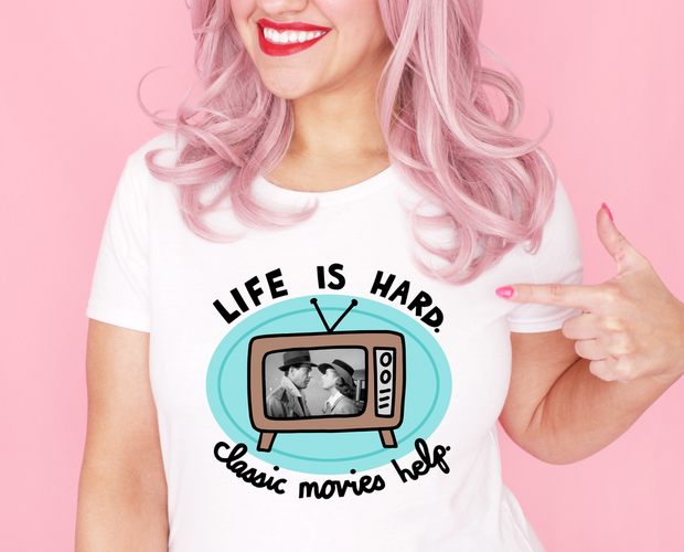 Classic movies help t-shirt