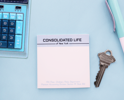 The Apartment Consolidated Life sticky note pad set