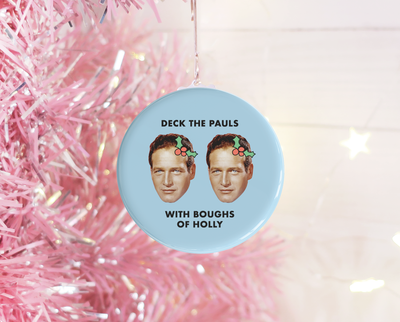 Deck the Pauls Christmas ornament