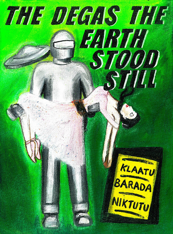 Degas the Earth Stood Still art print