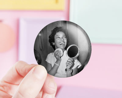 Dorothy Dandridge pocket mirror