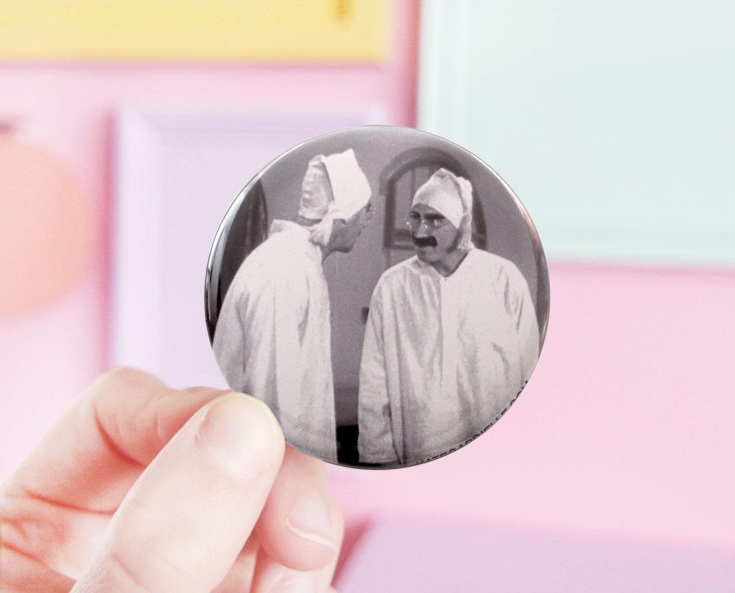 Duck Soup pocket mirror