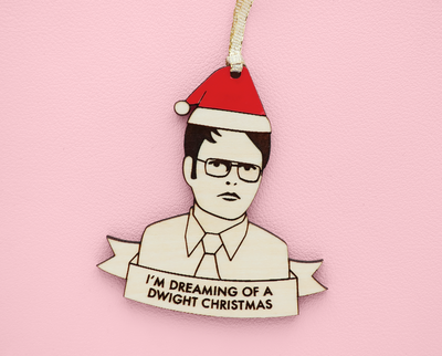 Dwight Schrute Christmas ornament