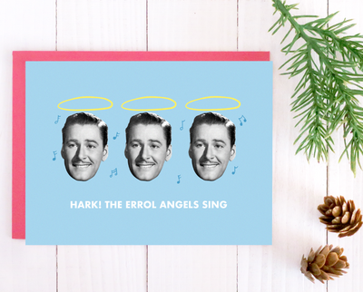 Errol Angels Christmas card set