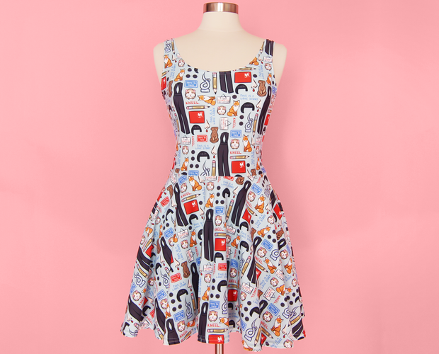 Fleabag Skater Dress