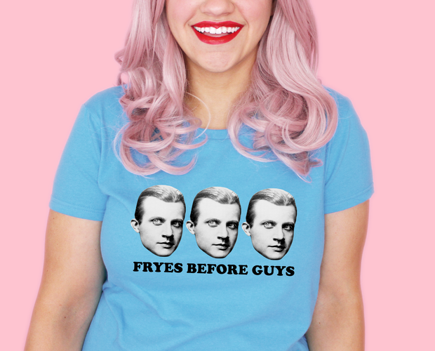 Fryes before guys t-shirt