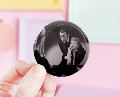 Gaslight pocket mirror