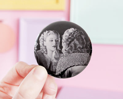 Ginger Rogers pocket mirror
