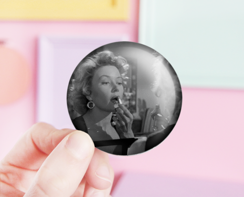 Gloria Grahame pocket mirror