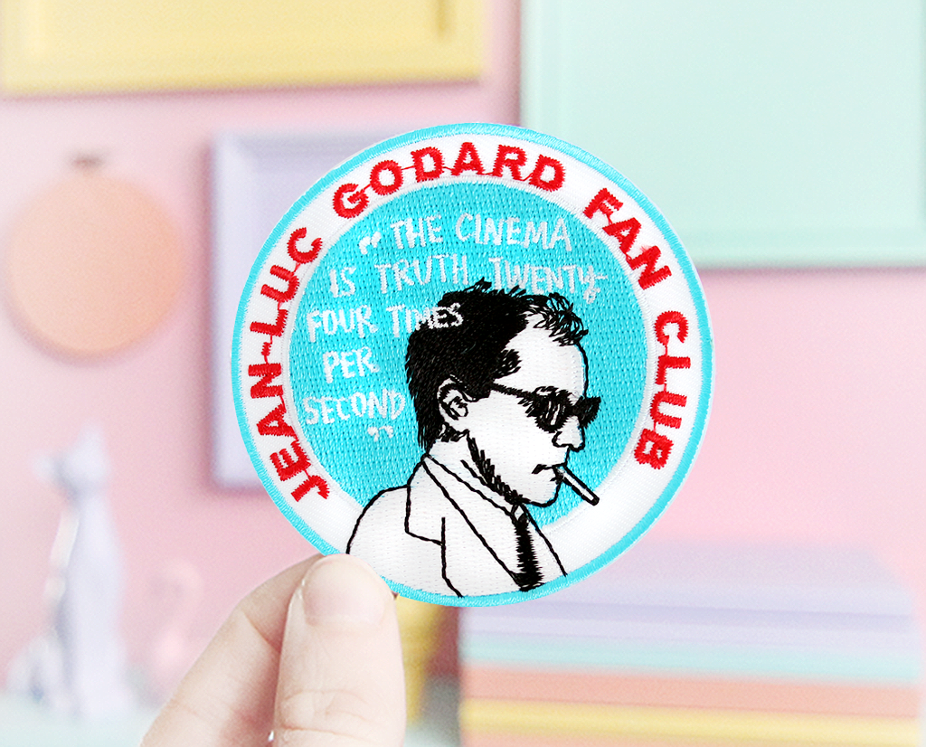 Jean-Luc Godard Fan Club patch