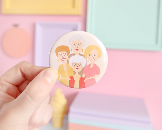 Golden Girls pocket mirror