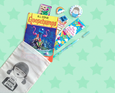 The Book Fair Kit - Goosebumps Edition