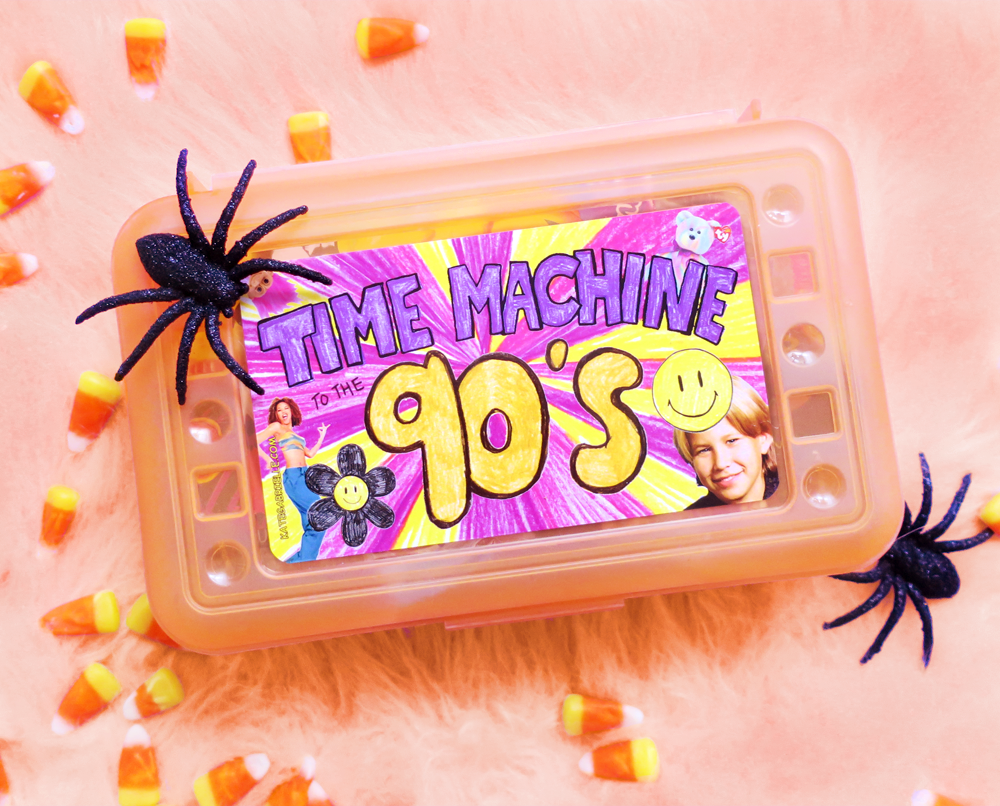 Time Machine to the 90's - Halloween edition