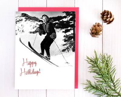Happy Hollidays Christmas card set