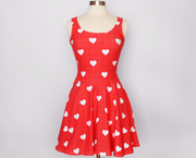 Dear Heart skater Dress