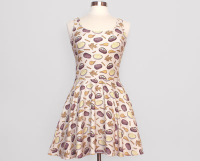 Hot Potato Skater Dress