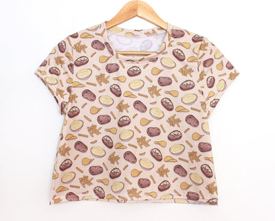 Hot potato crop top