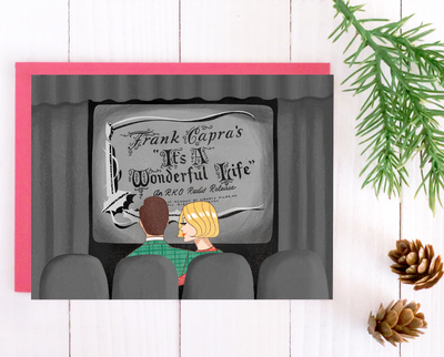 It's a Wonderful Life Christmas card