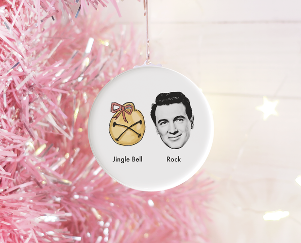 Jingle Bell Rock Christmas ornament