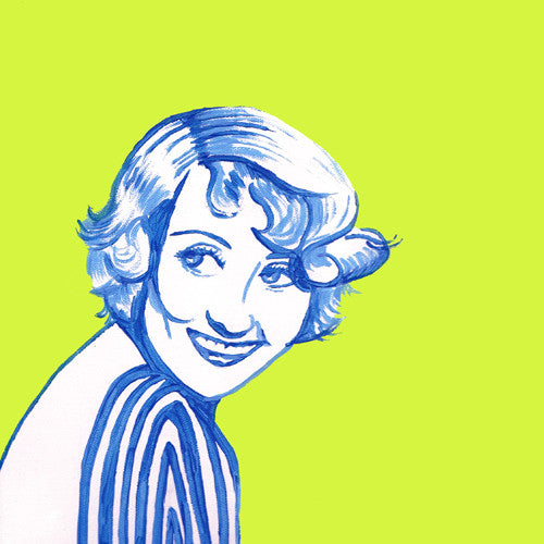 Joan Blondell art print